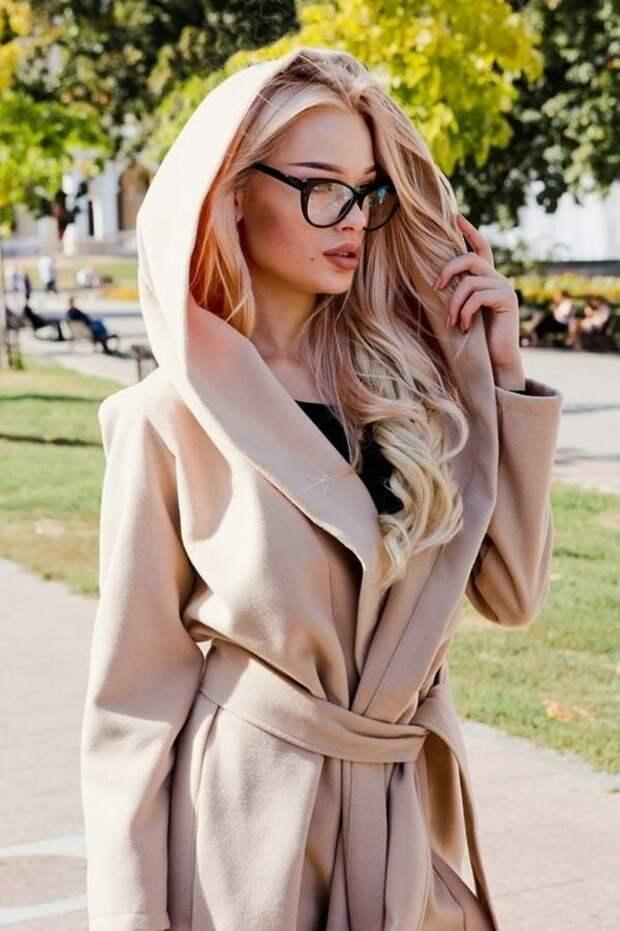 Модные пальто с капюшоном. Отличный вариант на осень 2020