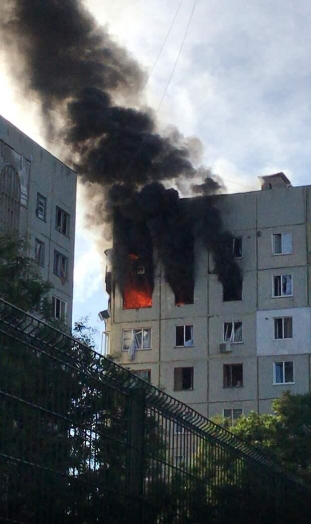 В Керчи произошёл взрыв в жилом доме