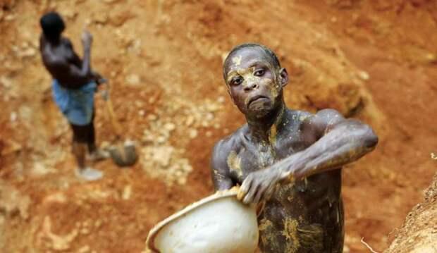98,3% золота Ганы находится в руках американских и канадских корпораций