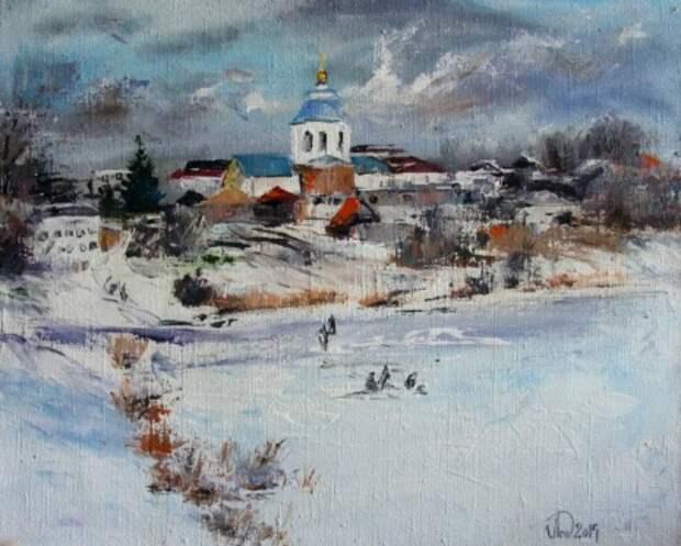 художник Александр Леднёв картины – 16