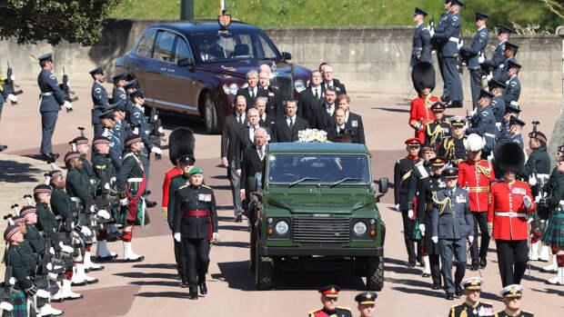 Трансляцию похорон принца Филиппа посмотрели 13,6 миллиона зрителей