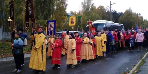В Екатеринбурге провели детский крестный ход ради роста успеваемости