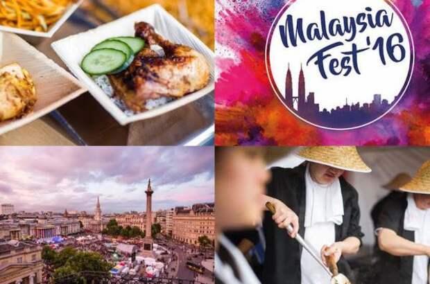 Фестиваль малазийской кухни состоится на Трафальгар-сквер