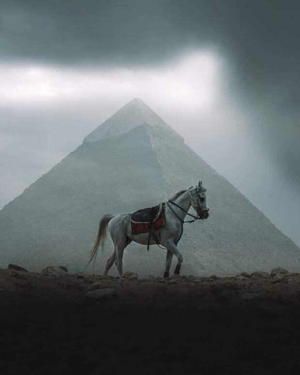 Пирамиды Гизы, какими вы их еще не видели