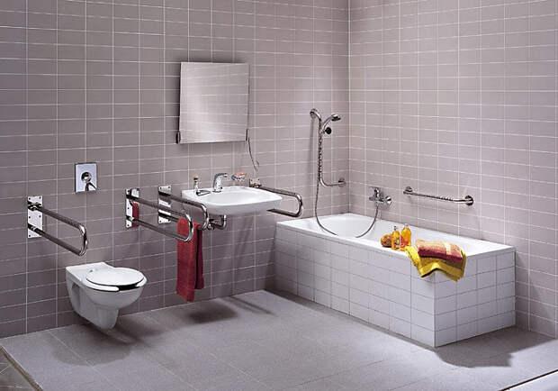 Поручни в ванной. Источник фото: http://www.o-vannoy.ru