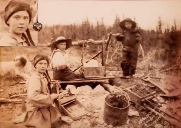 Экологическую активистку Грету Тунберг разглядели на фотографии 1898 года