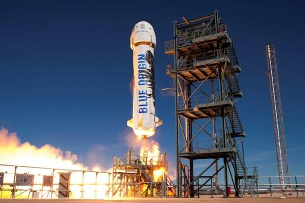 Место в туристическом полете в космос рядом с Джеффом Безосом продается на аукционе