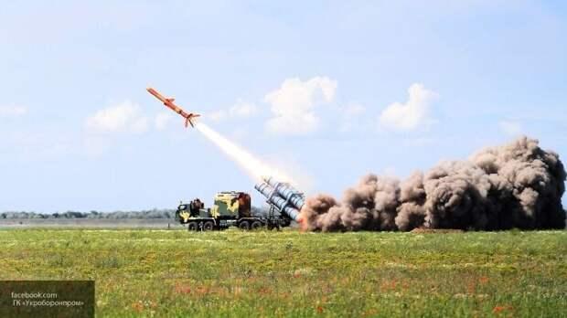 На Украине показали видео испытаний ракеты, «бьющей» по Крымскому мосту