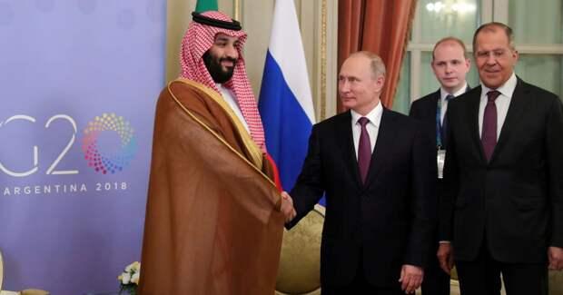 О чем договорились Путин с наследным принцем Саудовской Аравии на саммите G20