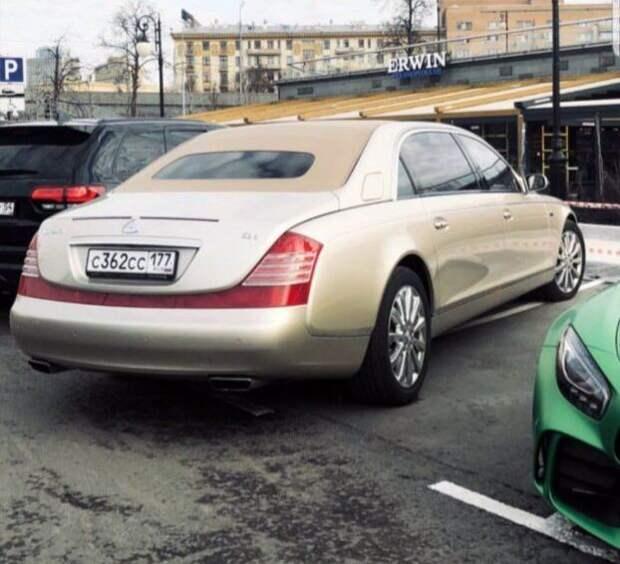 В России 2 таких Майбаха.Один из них только недавно привезли в страну.Что за он?