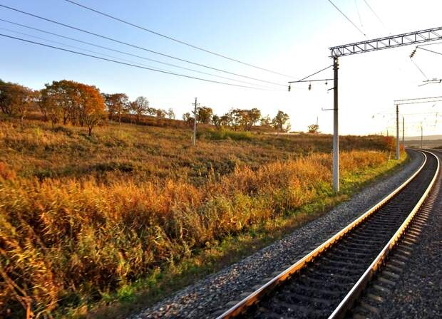 Виды ТрансСиба. Золотая осень 2020. Обратный путь Уссурийск - Владивосток...