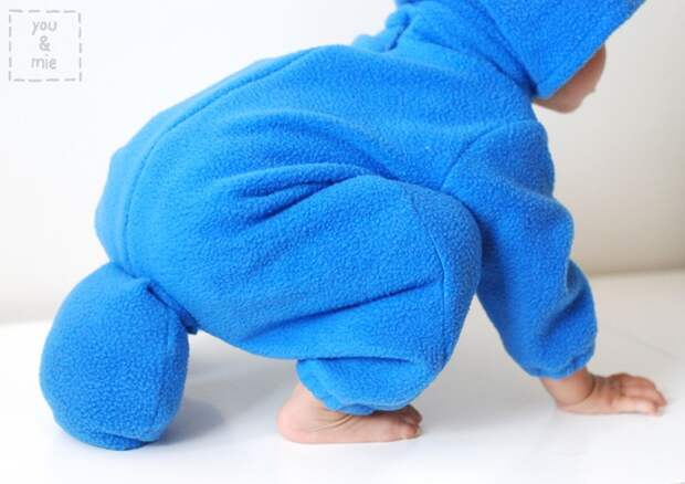 Костюм ТОТОРО для малыша (Diy)