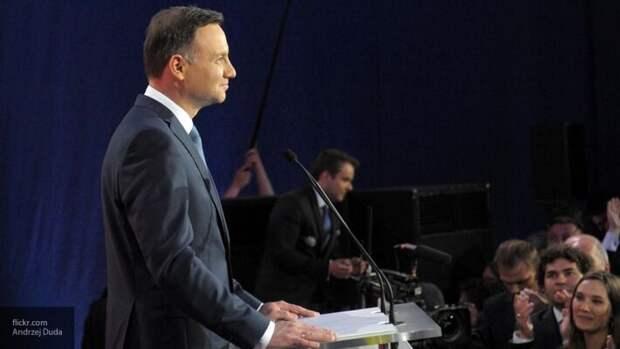 Президент Польши Дуда пообещал помочь Украине «вернуть» Крым и Донбасс