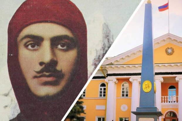 Вандализм в российском Армавире: памятную доску Гарегина Нжде закрасили, посольство Армении глубоко возмущено