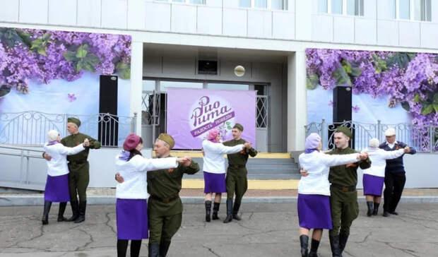 Танцевальные акции в честь Дня Победы прошли в Хабаровском крае