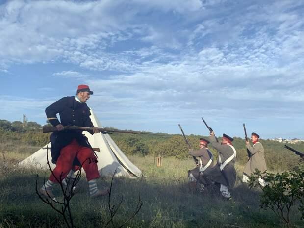 Реконструкторы напомнили о цене и ценности Инкерманского сражения