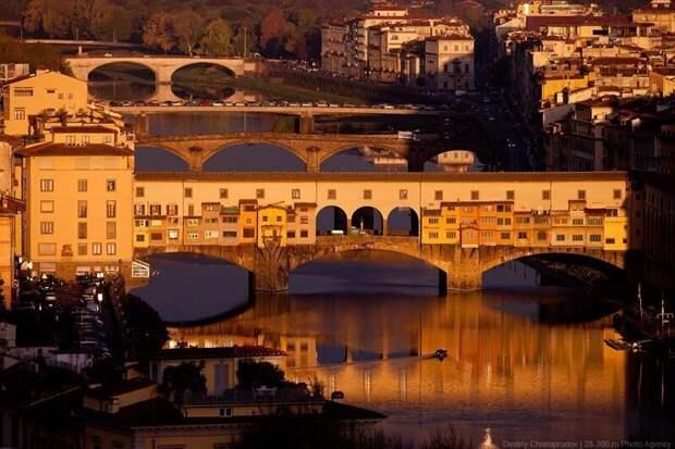 Виртуальная прогулка по опустевшей Флоренции