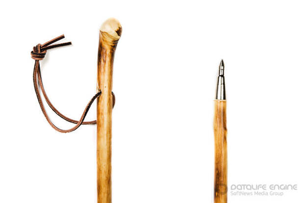 Для чего адыги использовали деревянный шест-посох?