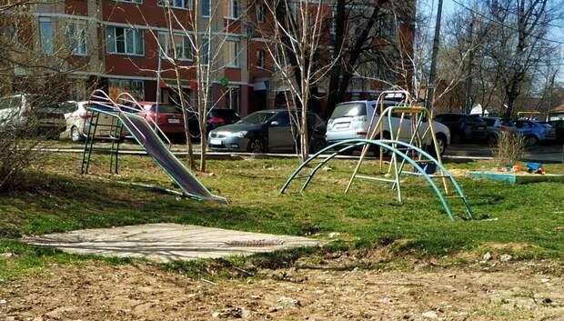 Двор на улице Федорова в Подольске комплексно благоустроят в 2019 году