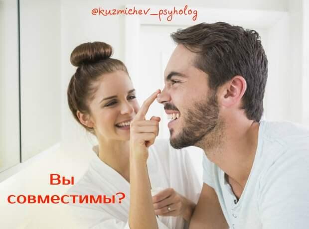 Совместимость мужчины и женщины проверьте себя