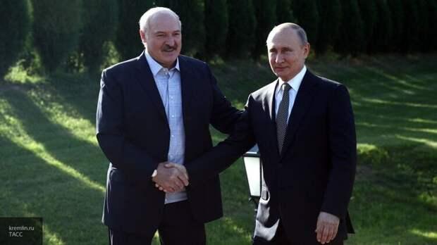 Путин и Лукашенко выбрали Сочи для проведения переговоров