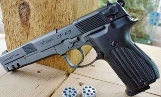 Пневматическое оружие: мощные пистолеты, на которые не нужно разрешение