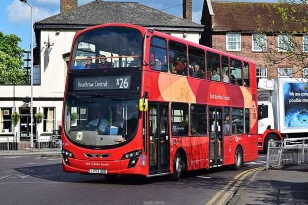 TfL назвал самый короткий и самый длинный автобусный маршрут в Лондоне