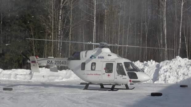 Вертолетные площадки построят на территории крупных райбольниц Удмуртии в течение двух лет