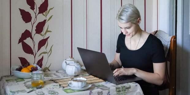 Собянин рассказал о развитии услуг и сервисов на портале mos.ru. Фото: Е.Самарин, mos.ru