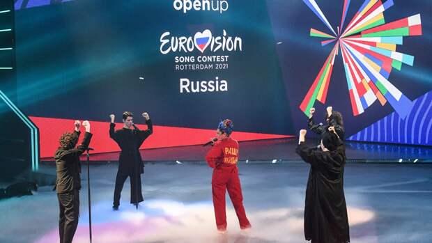 Манижа выступила третьей в первом полуфинале Евровидения-2021