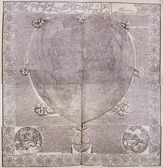 Древняя карта Хаджи Ахмеда