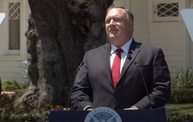 Госсекретарь США фактически объявил войну Китаю