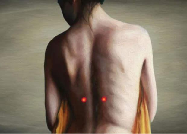 7 точек для облегчения боли в спине