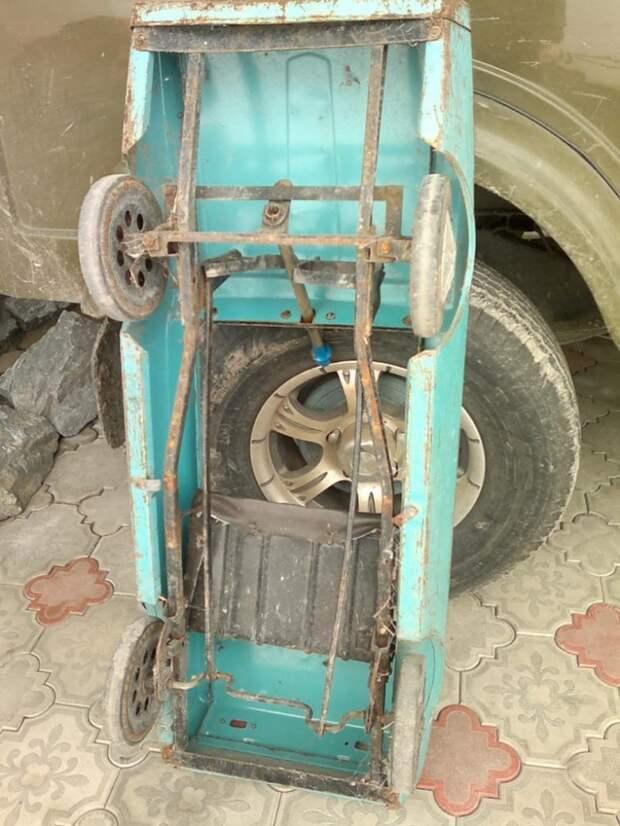 Вторая жизнь машинок из СССР