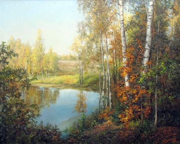 Художник-пейзажист Евгений Бурмакин