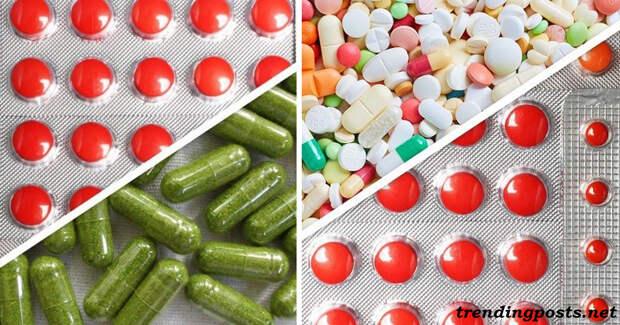 12 добавок и витаминов, которые никогда нельзя смешивать