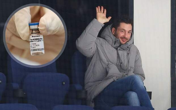 Немецкий тренер московского «Динамо» Шварц сделал прививку «Спутник V» от коронавируса