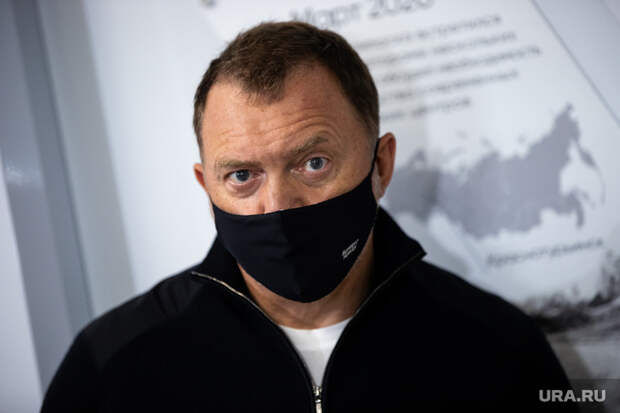 Бизнесмен Олег Дерипаска на открытии медицинского центра в Краснотурьинске. ЧАСТЬ, дерипаска олег