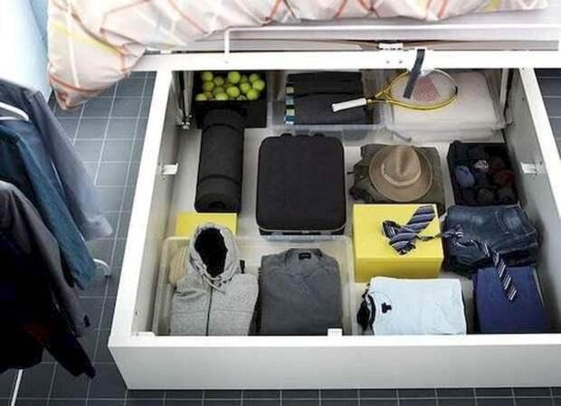 Улучшить дизайна маленькой спальни: необычные советы по экономии места