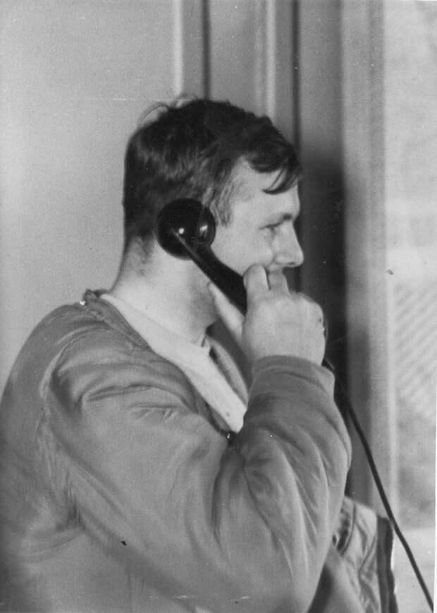Юрий Гагарин после полёта в космос. Первые часы.