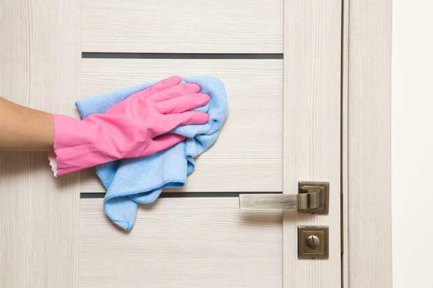 Как правильно мыть ламинированные двери