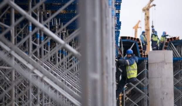 Реконструкция развязки на пересечении МКАД и Осташковского шоссе завершена на 40%