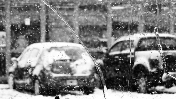 Мокрый снег выпал на севере Карелии за несколько дней до лета