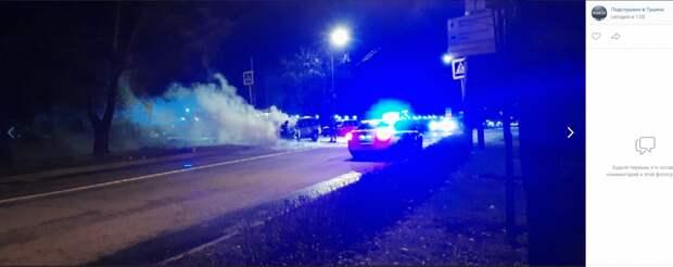 На Лодочной улице сгорел автомобиль