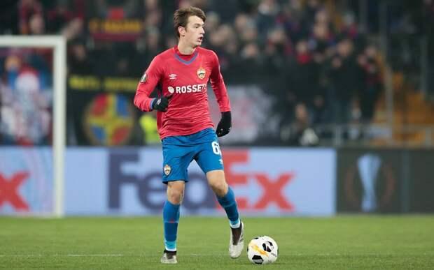Карпов: «Хочу поблагодарить Гончаренко. Благодаря ему я впервые вышел на поле в составе великого клуба ЦСКА»