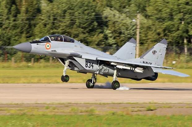 Индия приостановила использование российских МиГ-29