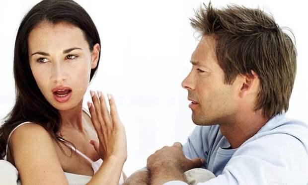 девушка отказывается говорить с мужчиной