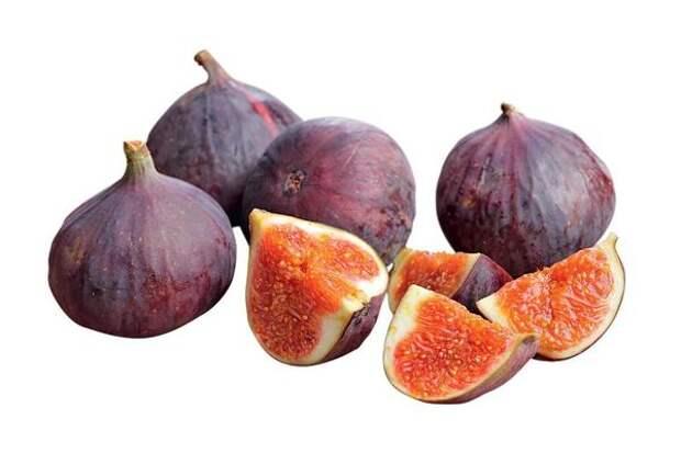 У полностью созревшего плода инжира кожица коричневого или темно-фиолетового цвета.