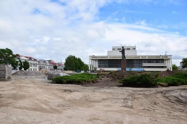 Обещанное благоустройство в Симферополе могут не завершить в срок