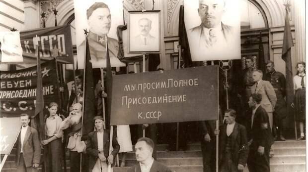 Советская Прибалтика отмечала День Победы с размахом